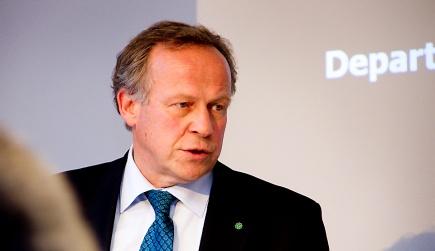 Landbruksminister Lars Peder Brekk