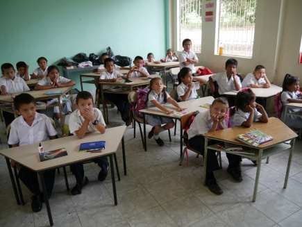 School children in Colombia
