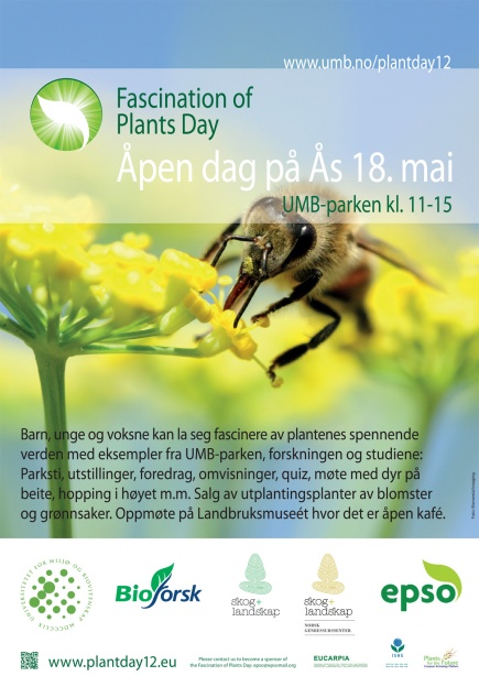 Plakat for Fascination of Plants Day