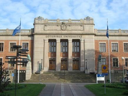 Hovedbygningen ved Gteborgs universitet