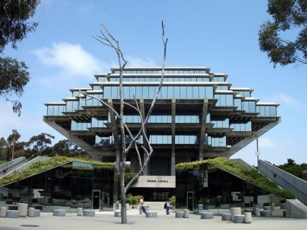 Geisel Library p UCSD campus