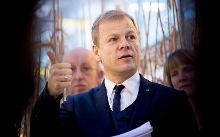 Utviklingsminister Heikki Holms