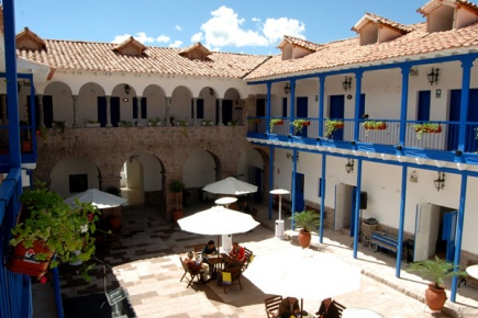 Studentboligene i Cusco Student housing in Cusco