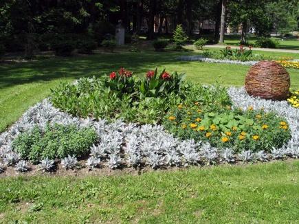 Sirkler i mange fasonger, er tema i viftebedene sommeren 2013