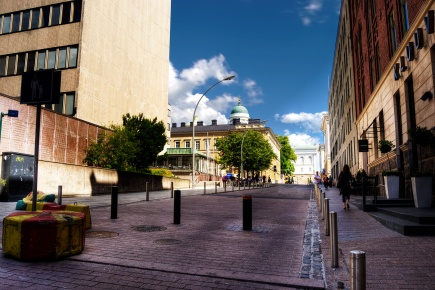 Downtown Helsinki, University area