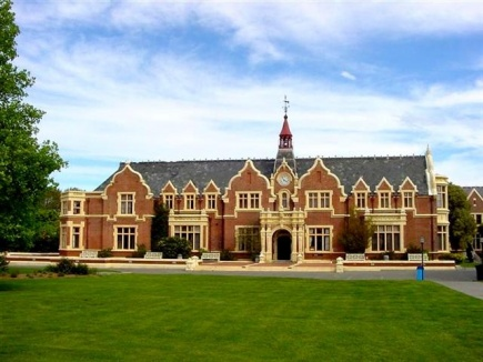 Lincoln University ligger like ved byen Christchurch p Srya p New Zealand.