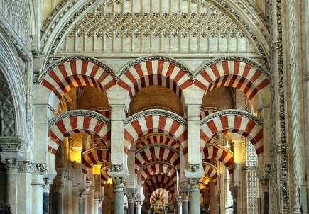 La Mezquita de Crdoba, en av Spanias mest kjente turistattraksjoner