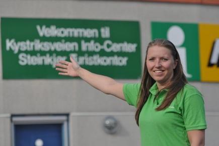 Christine Svarva Nielsen nsker velkommen til Innherred turistkontor.