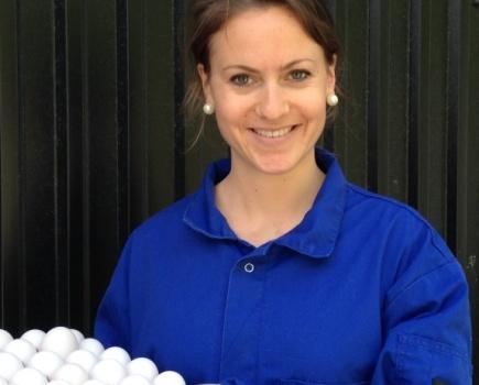 Margrethe Brantster forsker p hners fryktsomhet og stress.