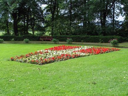 Sommerbeplantning UMB-parken 2009 - Danmark