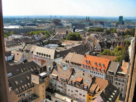 Utsikt over Freiburg
