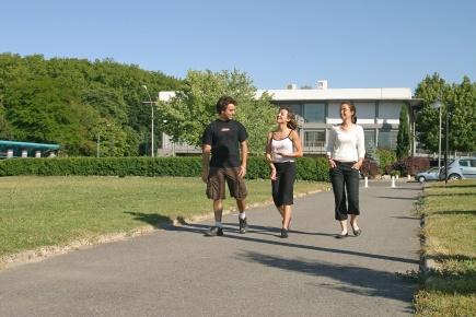 En del av campus INSA Toulouse