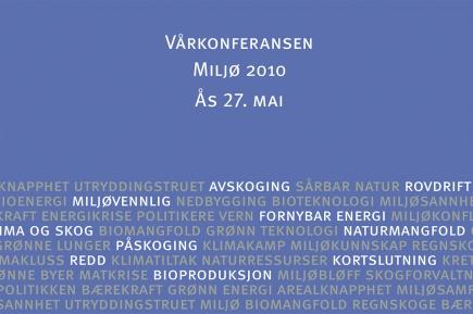 Vrkonferansen Milj 2010