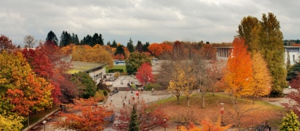 University of British Columbia i hsten /in the autumn