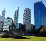 View from Jasons hometown Perth.