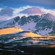 Bilde tatt mot Snhetta i Dovre-Sunndalsfjella nasjonalpark, hvor det er innfrt lokal forvaltning.
