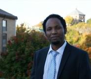 Haileselassie Medhin, stipendiat ved Handelshyskolen ved Universitetet i Gteborg