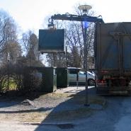Flytting av containere