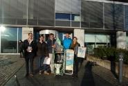 Studentforeningen Aquaris markerte verdens toalettdag 19. november 2013