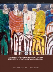 Book cover: Justica de Gnero y pluralidades legales