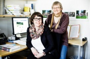 Library at Noragric, NMBU.  Librarians Hilde Kristin Langsholt and Liv T. Ellingsen invite to an open-day, April 30.