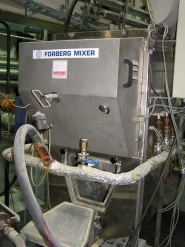 Forberg twin-shaft paddle mixer