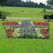 Sommerbeplantning UMB-parken 2009 - Norge