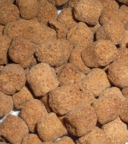 Deshelled krill meat pellets<br />(Courtosy of KrillSea products)
