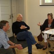 Samtale mellom tyske/norske veiledere og Tone Jrstad, direktr ved Falstad