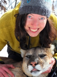Silje Vang er utdannet naturforvalter og forsker p pumaer i Canada.